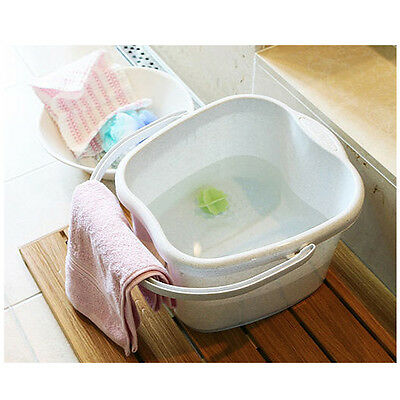 New Handled Foot Detox Spa Bath Bucket Tub Hot Foot Spa fatigue recovery