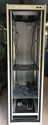 Spirent  Mobile Cabinet,  Dimensions 39 x 23 x 77 Inches