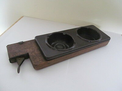 UNUSUAL VINTAGE 1930s BAKELITE CINEMA ASTRAY / DRINKS HOLDER