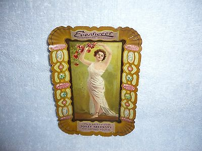 Beautiful Eversweet Deodorant Tin LItho Advertising Tip Tray  -