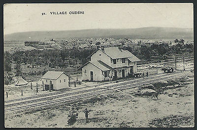Syria 1910 Aleppo village Oudehi railway station  picture postcard