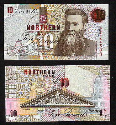 Inventor Series 1997 £10 Northern Bank  Mint