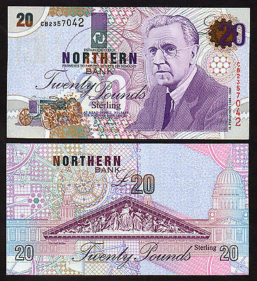 Inventor Series 1997 £20 Northern Bank  Mint