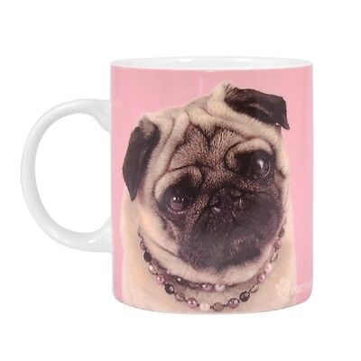 Pug Mug -  Pug in Necklace - Perfect Dog Lover Gift