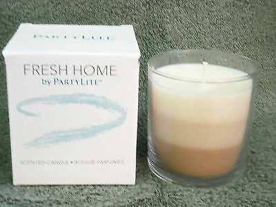 Partylite Fresh Home -- Fresh Perfect Pet Layered Jar Candle -- NEW 2016!