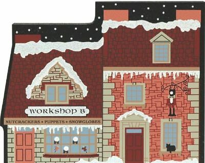 Cat's Meow Village Christmas North Pole Workshop B Glitter #01-911 Retired NEW