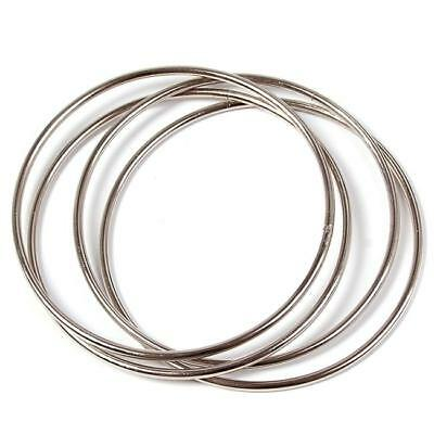 4 Magic Chinese Linking Rings Magnetic Lock Close Up Magic Show Stage Trick _S