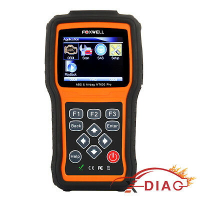 OBD2 ABS SRS Airbag Diagnostic Scan Tool Reset Code Reader FOXWELL NT630 Pro