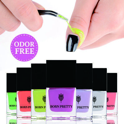 BORN PRETTY Odor-free Nail Art Peel Off Liquid Tape Latex  Cuticle Guard