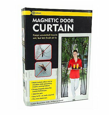 Magnetic Door Curtain Screen to Keep Flies and Insects Out.