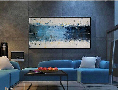 NEW-Huge Wall Painting Adornment Hand-Painted Oil Painting Abstract Home Decor