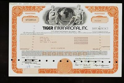AIRFREIGHT : Tiger International Inc ( now FedEx ) issued to Rush & Co