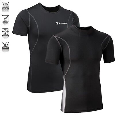 Tenn Unisex Compression Cycling/Running S/S Base Layer