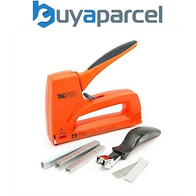 Tacwise Z3 4-in-1 Staple / Nail / Cable Staple Gun Kit Inc 10000 Staples + Nails
