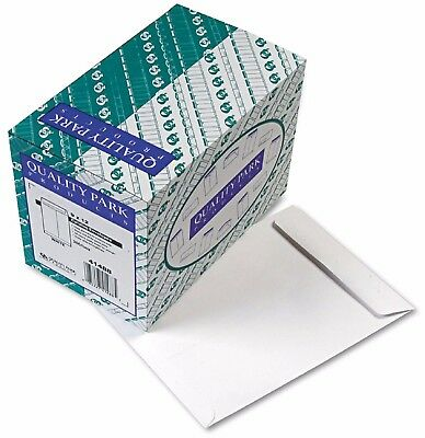 Quality Park Catalog Envelope 9 x 12 White 250/Box Heavily Gummed Flap