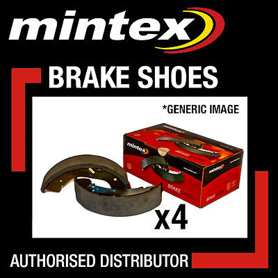 Mfr163 Mintex Brake Shoes (2) Ford Tvr New In Box!