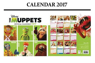 The Muppets Official Calendar 2017 + The Muppets Fridge Magnet