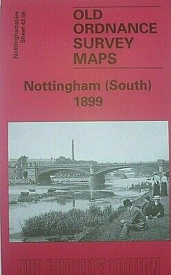 OLD Ordnance Survey Map Nottingham South1899 S42.06 New