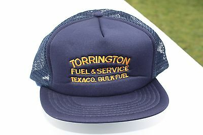 Ball Cap Hat - Texaco Torrington Bulk Fuel Service - Oil Gas  (H1530)