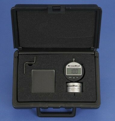 Digital Drumdial Precision Drum Tuner W/ Hard Case And Drum Key Made In Usa