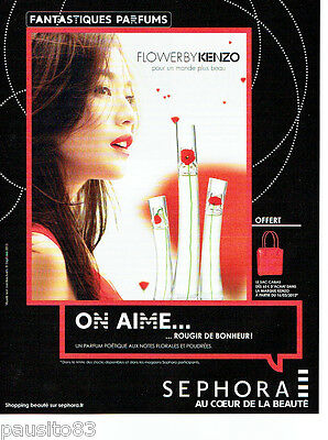 2012 Sephora2 088 Parfum Flower Advertising Publicité By Kenzo O8PnwkX0
