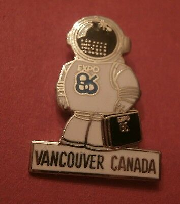 Expo 86 -  (Vancouver BC) World's Fair Lapel Pin