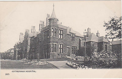 Rotherham,U.K.Hospital,South Yorkshire,c.1901-06