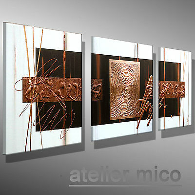 atelier mico original abstrakt gem lde modern bilder. Black Bedroom Furniture Sets. Home Design Ideas