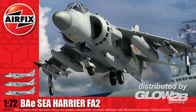Airfix Sea Harrier FA2 in 1:72 1504052 Glow2B A04052  X