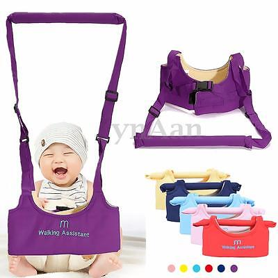 New Baby Toddler Walking Safety Harness Strap Belt Walk Assistant Infant Carry