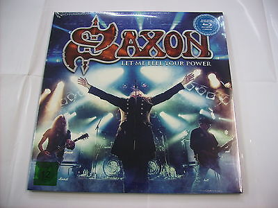 Saxon - Let Me Feel Your Power - 2Lp/bluray/2Cd New Sealed 2016