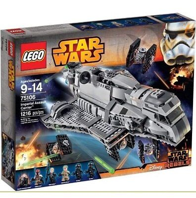 LEGO Star Wars Imperial Assault Carrier 75106 - New in Box