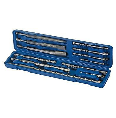 Silverline 12 Piece Masonry Sds Plus Drill & Chisel Bit Set