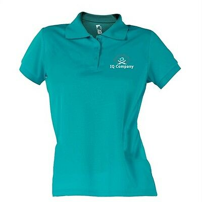 iQ UV 25 Travel Polo 94 turquoise Women