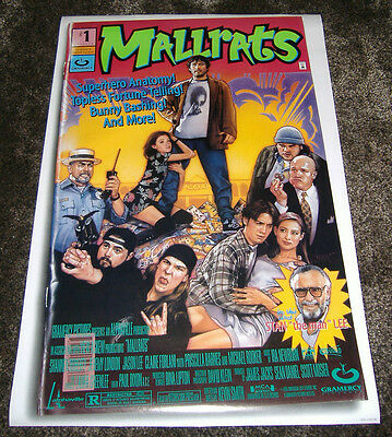 Mallrats (1995) Original D/s One Sheet Poster, Kevin Smith, Stan Lee