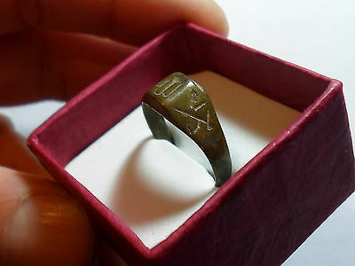 A Genuine Islamic Ring, Probably 800-1000 A.d, With Free Gift Box.