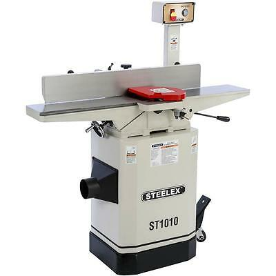 "Steelex Machinery Series by Shop Fox ST1010—6"" 1hp Jointer with Mobile Base"