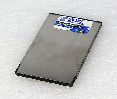 Smart Modulaire Technologies 32Mb Flash Card Sm9Ds3282F6Asd Pcmcia 68 Pol O231