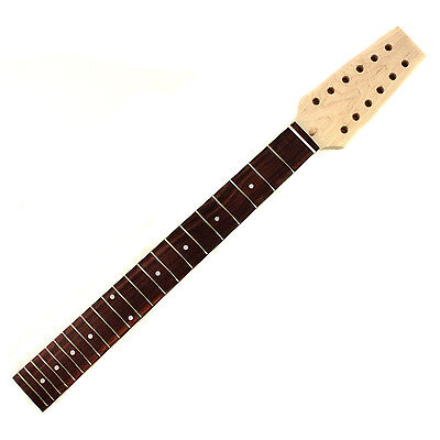 12 String Electric Guitar Neck Maple -  Rosewood Fingerboard