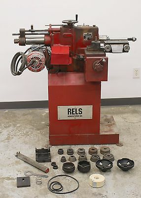 RELS /  Van Norman 204 Disc and Drum Brake Lathe w/ Stand & Adapters