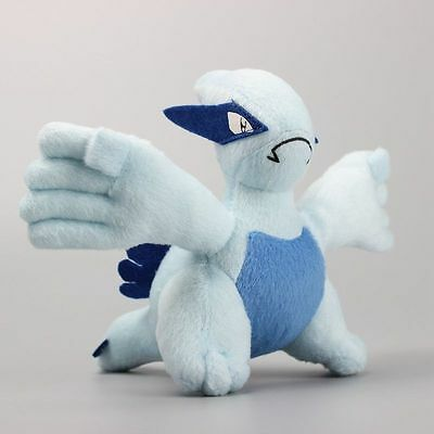 1 Piece Pokemon Lugia Plush Toy Stuffed Animals Doll Gift 14 cm