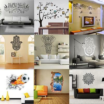Family DIY Removable Art Vinyl Wall Stickers Decals Mural Home Kids Decor Hot