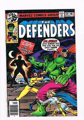 Defenders # 69 The Anything Man ! grade 5.0 scarce hot book !!