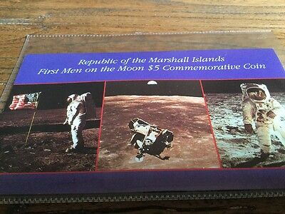 Coin Republic Of The Marshall Islands First Men On Moon