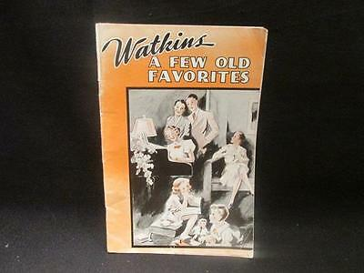 J R Watkins Liniment A Few Old Favorites 1930s Songbook with Advertisements