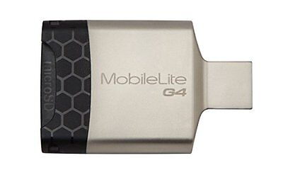 Kingston Technology MobileLite G4 USB 3.0 Multi Card Reader