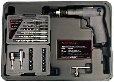 "Ingersoll Rand 7804K 1/4"" Mini Air Drill Driver Tool Kit - IR7804K"