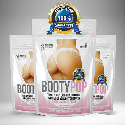 Bum Enlargement Pills, Butt Enhancer Tablet, Tone Round Firm Uplift Bigger Ass