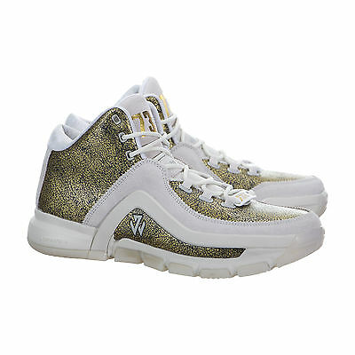 Mens Sports Shoes Adidas J Wall 2 BHM Basketball Boots Trainers Leather AQ7958 @