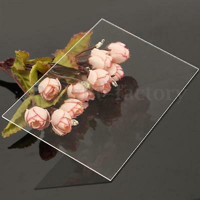 1-10mm A2/3/4/5/6 crylic Perspex Sheet Cut to Size Panel Plastic Satin Gloss